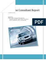 Hyundai Strategic Management Analysis