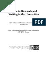 Hu x Research Guide
