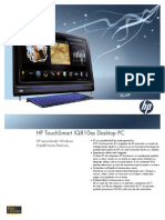 HP TouchSmart IQ800