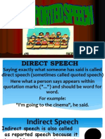 direct and indirect speech real.ppt