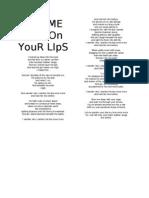 Let Me Pardon Your Lips