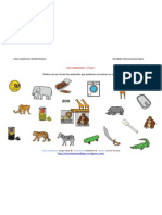 Razonamiento Logico Categorizar y Agrupar Ficha 9 Zoo