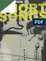 Digital Booklet - Short Songs