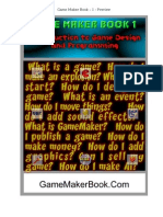 Game Maker Book 1 tutorial coding all items and one example also