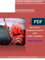 Secrets to Staying Positive With Vedic Tradition