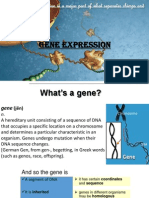 gene expression [Autosaved].pptx
