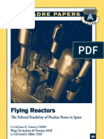 Flying Reactors - The Political Feasibility of Nuclear Power in Space