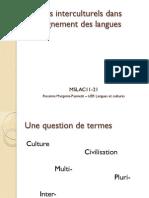 Aspects Interculturels Dans l Enseignement Des Langues.862833