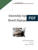Internship Report.