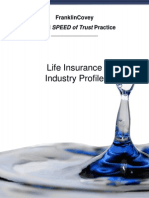 Industry Trust Profiles (Life Insurance)
