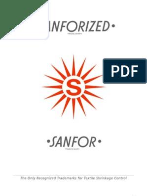 Sanforizing pdf | Textiles | Trademark