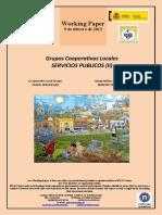 Grupos Cooperativos Locales. SERVICIOS PUBLICOS II (Es) Co-operative Local Groups. PUBLIC SERVICES II (Es) Kooperatiben Tokiko Taldeak. ZERBITZU PUBLIKOAK II (Es)