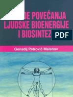 G. P. Malahov - Metode povećanja ljudske bioenergije i biosinteze
