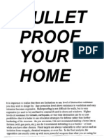 Bullet Proof Your Home