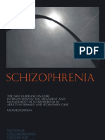 Schizofrenia NICE