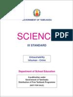 Std09 Science EM PART # 1