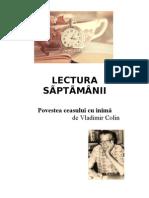 LECTURA   SÃPTÃMÂNII -4