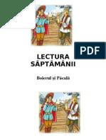 LECTURA   SÃPTÃMÂNII -7