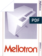 Mellotron Ad MKVI