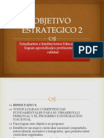 OBJETIVO ESTRATEGICO 2