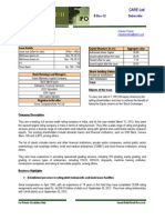 Care- Ipo Note