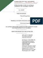 McKinley v FHFA, Appellee FHFA Brief DC Circuit Court of Appeals (Lawsuit #4)