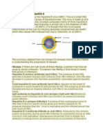 Pathophysiology of Hepatitis B