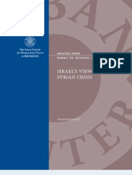Israel's View of the Syrian Crisis.pdf