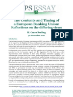 The Contents and Timing of a European Banking Union- Reflections on the differing views.pdf