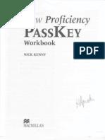 New Profieciency PassKey