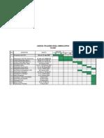 Contoh Schedule Tahapan PILKADES
