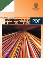 Manual de Monitorizare Si Evaluare a Politicilor Publice