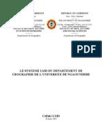 LMD Geographie Ngaoundere V11