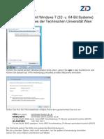 TU Wien VPN Windows 7 64bit