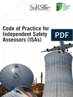 Code of Practice for Independent Safety Assessors (ISAs)