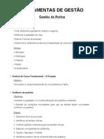 FERRAMENTAS DE GESTÃO