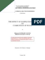 Scientific Sample Report