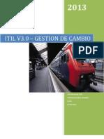 ITIL-Gestión de Cambios