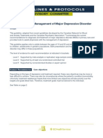 Diagnosticul Si Managemementul Depresiilor Majore