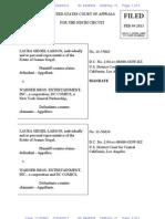 Siegel Superman Superboy & Pacific Pictures cases - 2/8/2013 documents