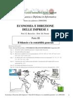 Università - Ragioneria - 3° - Il Bilancio E La Contabilità Generale
