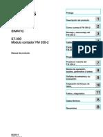 s7300 Fm350 2 Operating Instructions Es Es-ES