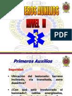 Primeros Auxilios II