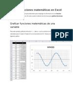 4- excel 2010 - Graficar funciones matemáticas en Excel