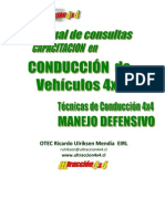 conduccion 4x4