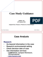 Case Study Guidance