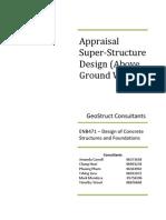 Concrete Super Structure Report