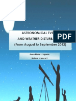 Astronomical Events 2012