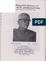 About MR Jambunathan