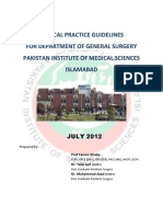 Clinical Practice Guidelines GS PIMS